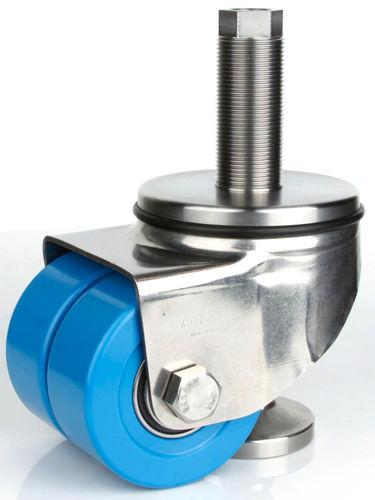 ruedecilla de inmovilización / giratoria / con platino giratorio / con varilla roscada