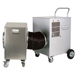 aspirador para conducto de aire / monofásico / móvil / con filtro HEPA