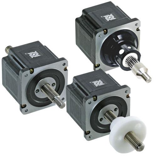 actuador lineal / eléctrico / paso a paso / compacto