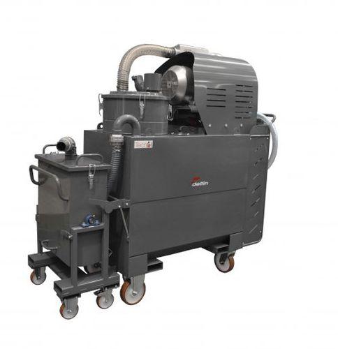 aspirador de aceite y virutas / eléctrico / industrial / móvil
