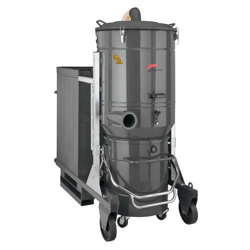 aspirador para polvo nocivo / trifásico / industrial / de acero inoxidable