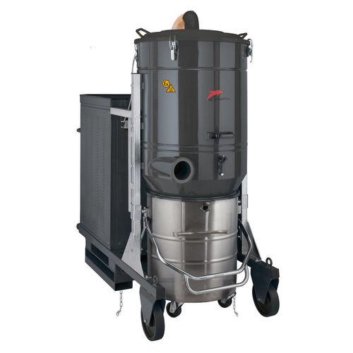 aspirador de agua y polvo / trifásico / industrial / móvil