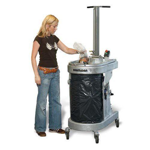 compactador de basura orgánico / móvil / de carga superior