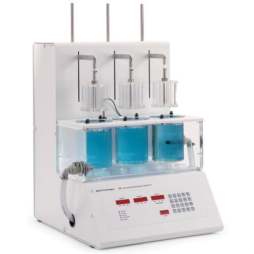 aparato de pruebas de disgregación / de comprimidos / automático / compacto