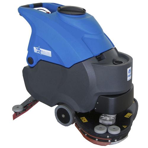 fregadora con operador a pie / alimentada por batería / alimentada por cable / compacta