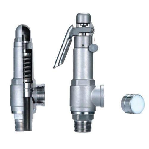 válvula de seguridad de aire / para vapor / para agua / direccional