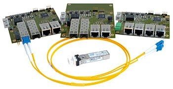tarjeta switch Ethernet administrable