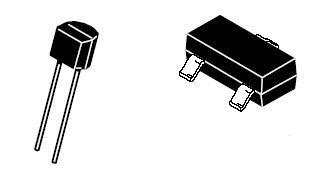 diodo varicap / con terminales radiales / rectificador