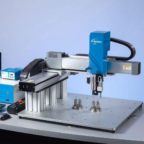 robot de pórtico / 3 ejes / de dosificación / de alta velocidad