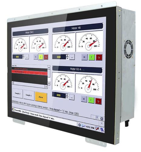 panel PC TFT LCD / pantalla táctil capacitiva PCAP / 15