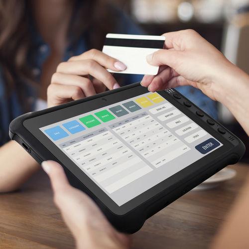 tablet con lector de tarjeta inteligente - Winmate, Inc.