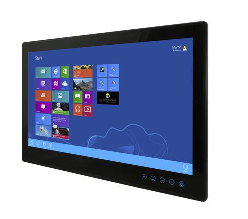 panel PC con pantalla táctil multipuntos / 1920 x 1080 / Intel® Celeron Bay Trail / sin ventilador