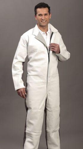 traje de trabajo / ignífugo / de algodón / para arenado