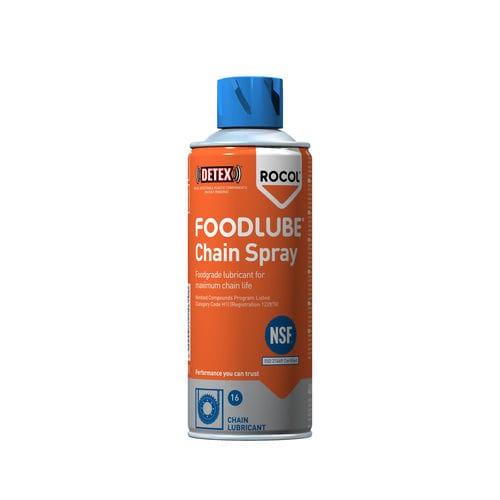 aceite sintético / para cadena / de aerosol