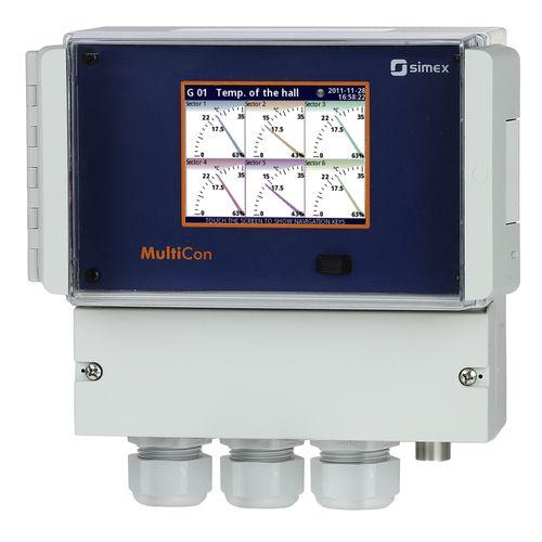 data logger de temperatura / de humedad / de presión / de nivel de agua