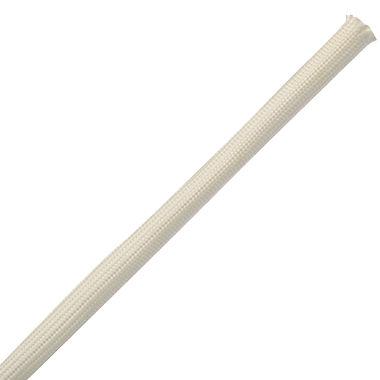 funda aislante / trenzada / para cables / de fibra de vidrio