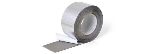 cinta adhesiva de aluminio / de caucho butilo / para el recubrimiento de tubos / de película