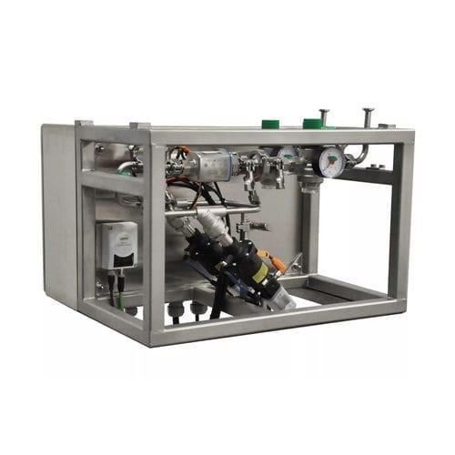 unidad de mezcla y de dosificación de agua / de pasta / continua / digital