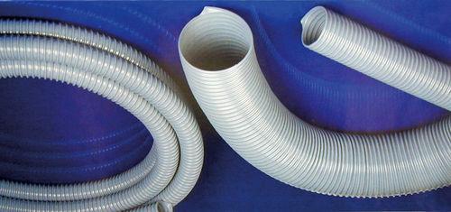 tubo flexible para aire / para aspiradora industrial / para succionador / de PVC