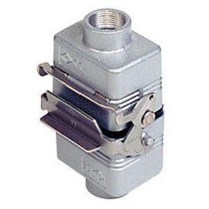 conector de datos / DIN / rectangular / de bloqueo