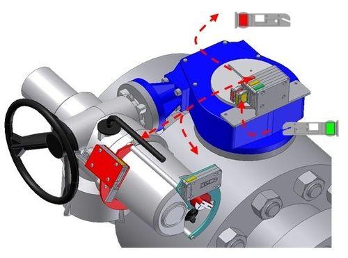 dispositivo de cierre para actuador de válvula