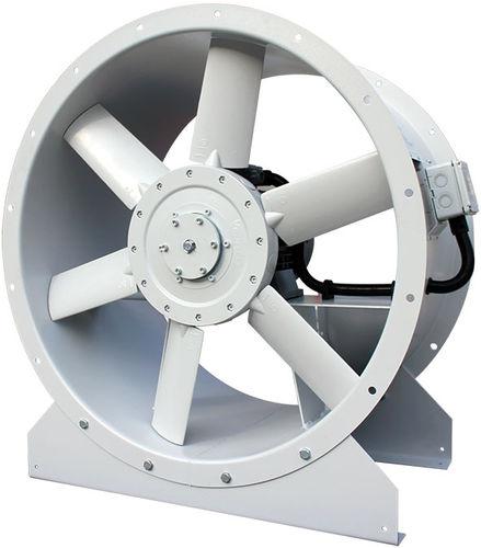 ventilador de tejado / axial / de circulación de aire / vertical