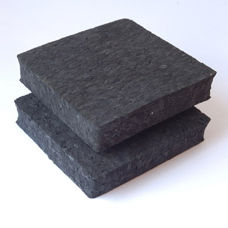 alfombra antivibración / acústica / de caucho / de poliuretano