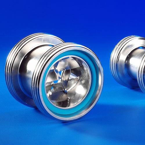 mezcladora estática / continua / para líquidos / de gases