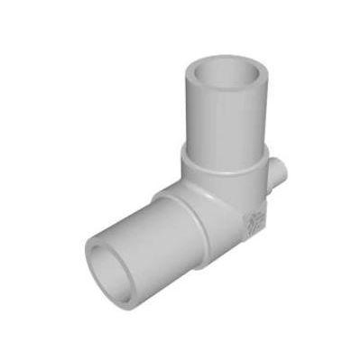 racor soldable / en T / hidráulico / de PFA
