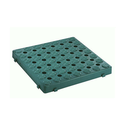 alfombra modular / antivibración / antideslizante / de polipropileno
