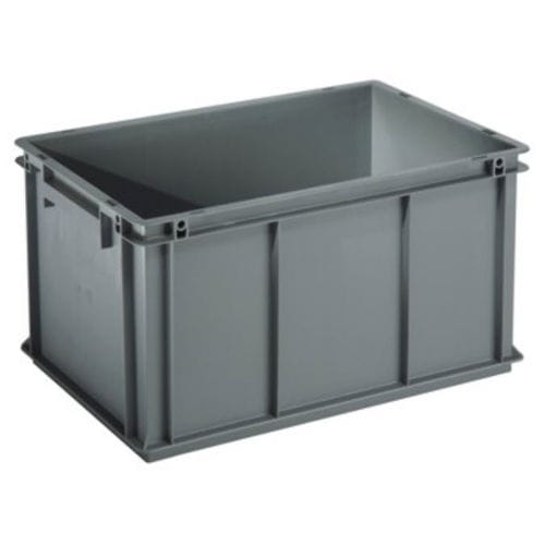 cajón de polipropileno / de transporte / para la logística / con asideros