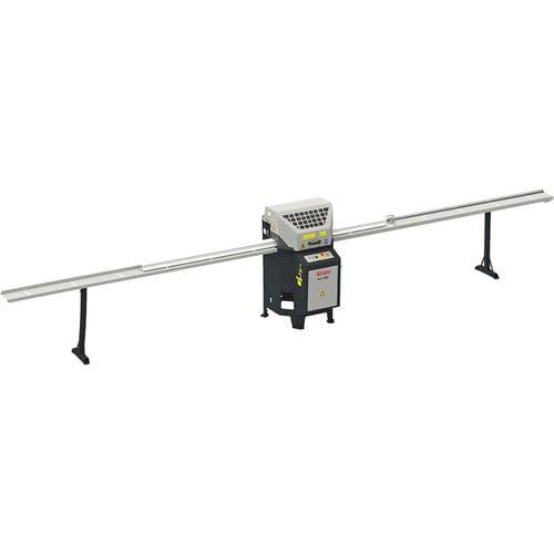 sierra monocabezal / ingletadora / para PVC / para perfiles