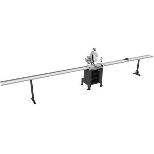 máquina de corte para PVC / de perfiles / de listones