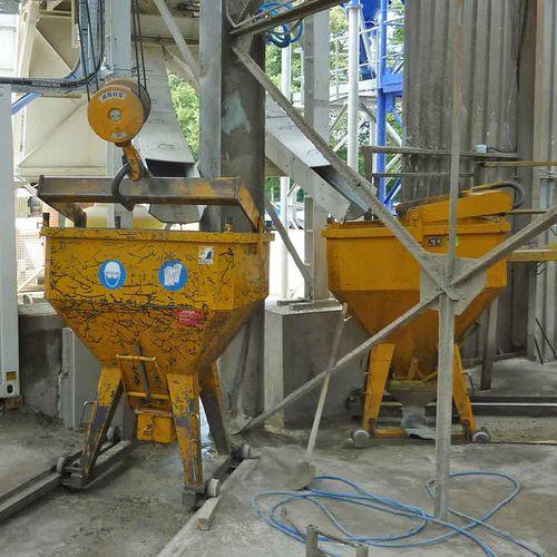 mezcladora planetaria / batch / para hormigón / compacta