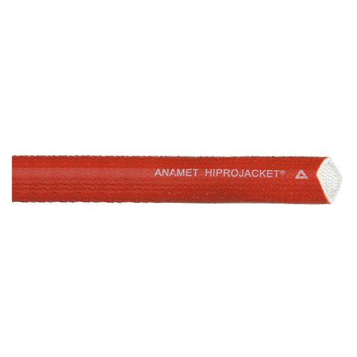 funda de protección / trenzada / para cables / fibra de vidrio