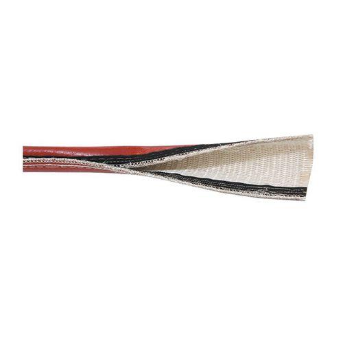 funda aislante / con sistema de cremallera / para tubos / para cables