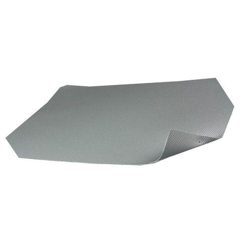 manta aislante tejida / de fibra de vidrio