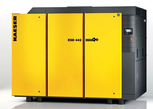 compresor de aire / estacionario / con motor eléctrico / de tornillo