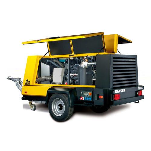 compresor de aire / móvil / con motores diésel / de tornillo