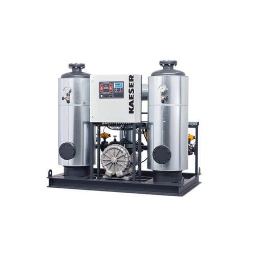 secador de aire comprimido por adsorción regenerados por el calor de compresión / compacto / alta calidad / calor externo