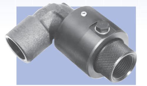 racor de rosca / codo de 90º / hidráulico / neumático