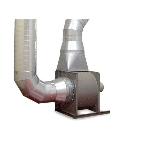 ventilador centrífugo / de extracción / canalizable / de alto caudal