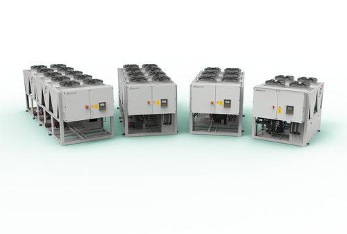 refrigerador de agua / para compresor de tornillo / de alta eficacia / free cooling