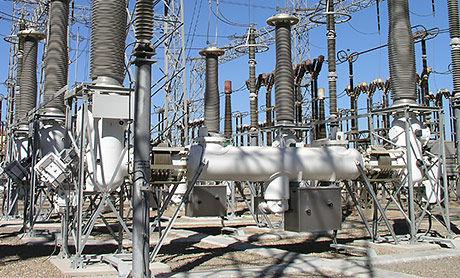 cuadro eléctrico aislado en gas