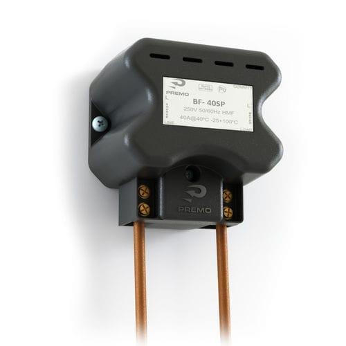 filtro electrónico paso bajo / pasivo / monofásico