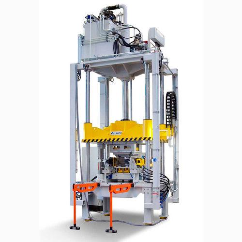 prensa para desbarbar / hidráulica / de producción / totalmente automática