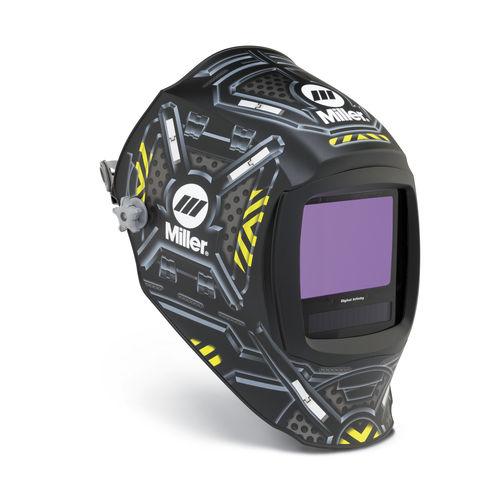 máscara de soldadura auto-oscureciente / EN 379