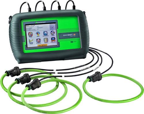 analizador de red eléctrica / de calidad de la energía / de potencia / portátil