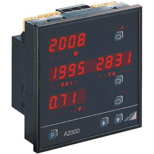 analizador de red eléctrica / de potencia / portátil / con registrador de datos
