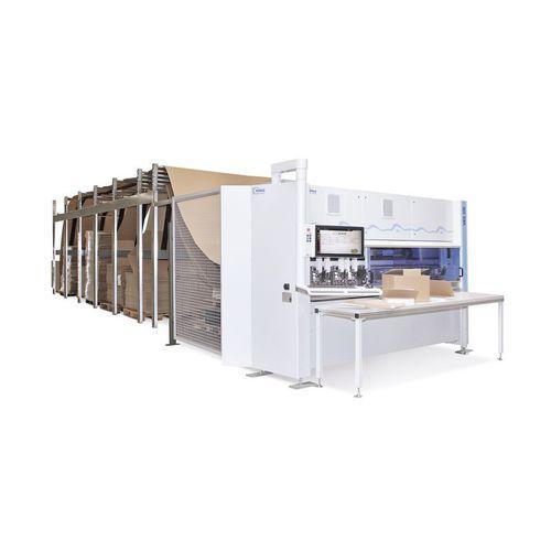 máquina de corte para cartón / para embalajes / de formas / manual